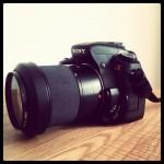 Spejlreflekskamera Sony Alpha 350