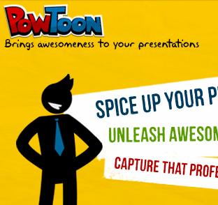 Animerede præsentationer og videoer med Powtoon