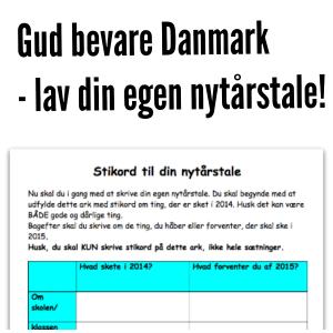 Gud bevare Danmark – lav din egen nytårstale!