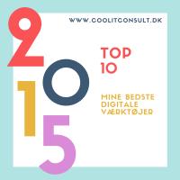 Top 10 over mine bedste digitale værktøjer 2015